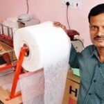 padman arunachalam made sanitary pad machine